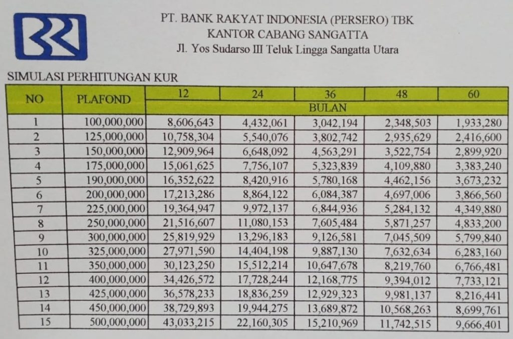 KUR Bank BRI